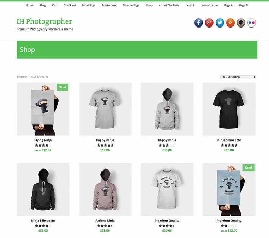 IHP Shop