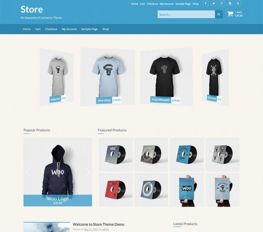 store free screenshot