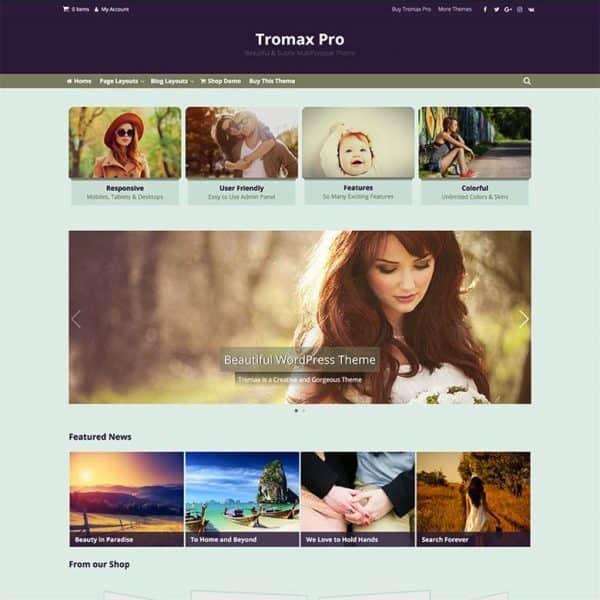 screenshot tromax pro