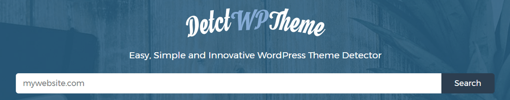 Detect WP theme
