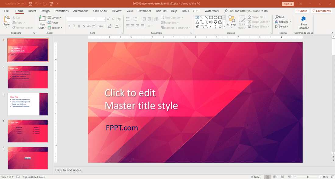 create and present stunning powerpoint presentations with fppt
